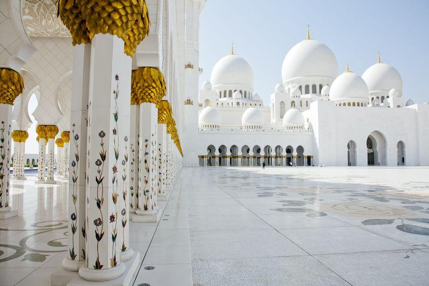 Abu Dhabi Sheik Zayed Mosque