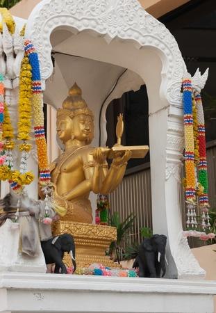 Buddhist Altar in Thailand