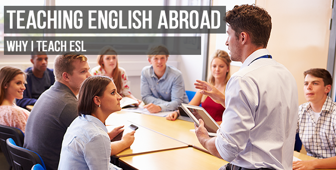 Why i want to teach english abroad essay