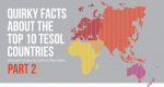 Top 10 TESOL Countries Quirky Facts