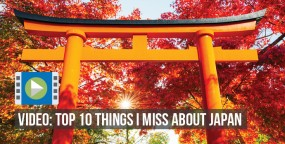 Video: Top 10 Things I Miss about Japan