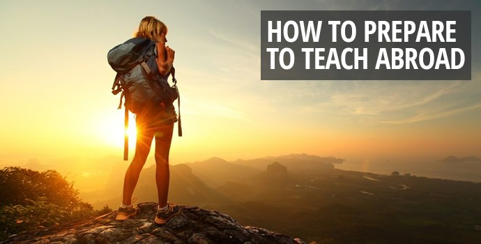 How to Prepare to Teach Abroad