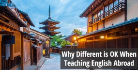 Why Different is OK When Teaching English Abroad