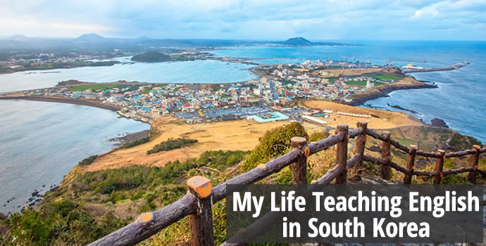 A View of Jeju Island in South Korea. My Life Teaching English in South Korea