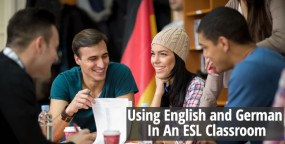 Using English And German In An ESL Classroom