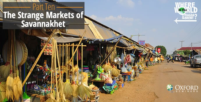 The markets of Savannakhet, Laos