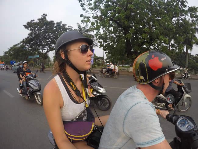Motorcycle picture in Vietnam