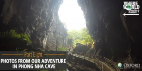 Photos from our Adventure in Phong Nha Cave