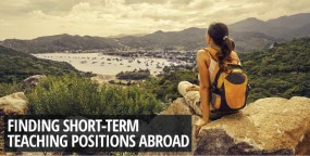 Finding Short-term Teaching Positions Abroad