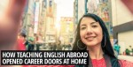 Teaching English overseas