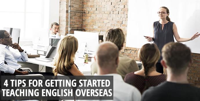 Teaching English Over Seas?