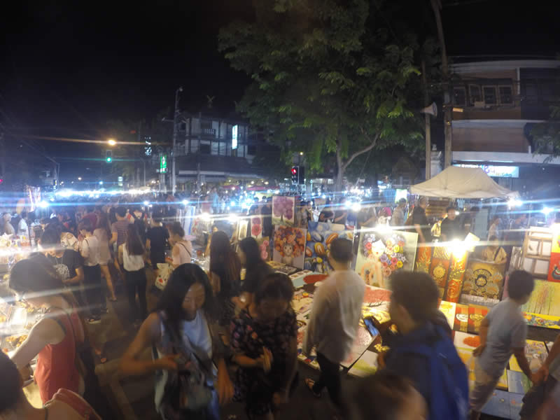 Market in Chiang Mai, Thailand