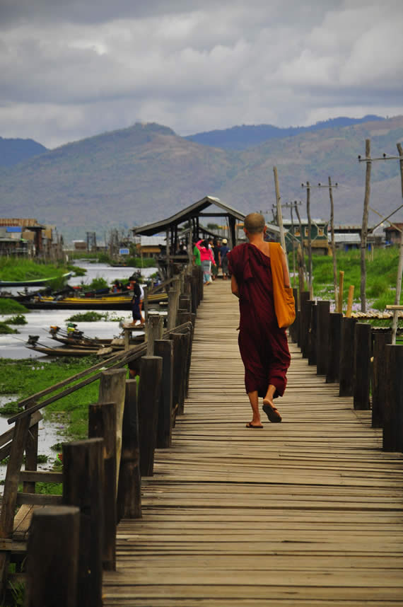 Magda & Brent's Adventure in Myanmar, Inle Lake