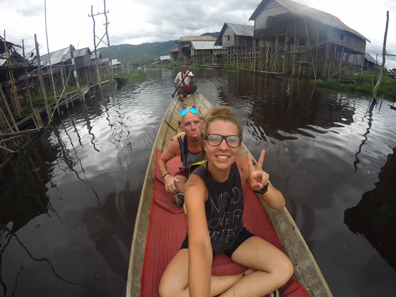 Magda & Brent's adventure in Myanmar - Inle Lake