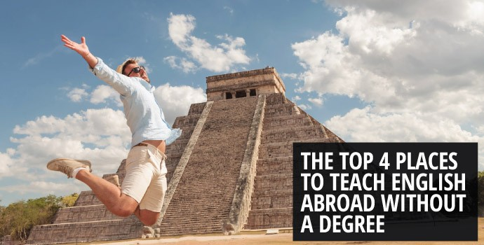 The top 4 places to teach English abroad without a degree