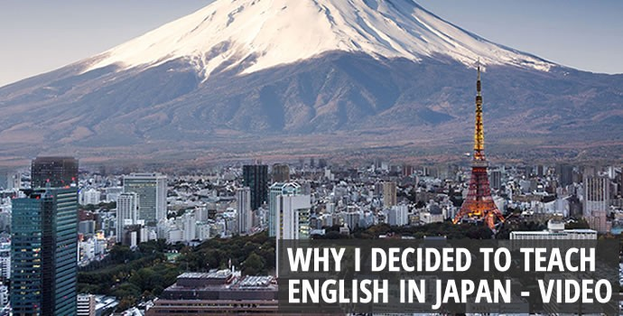 Why I decided to teach English in Japan
