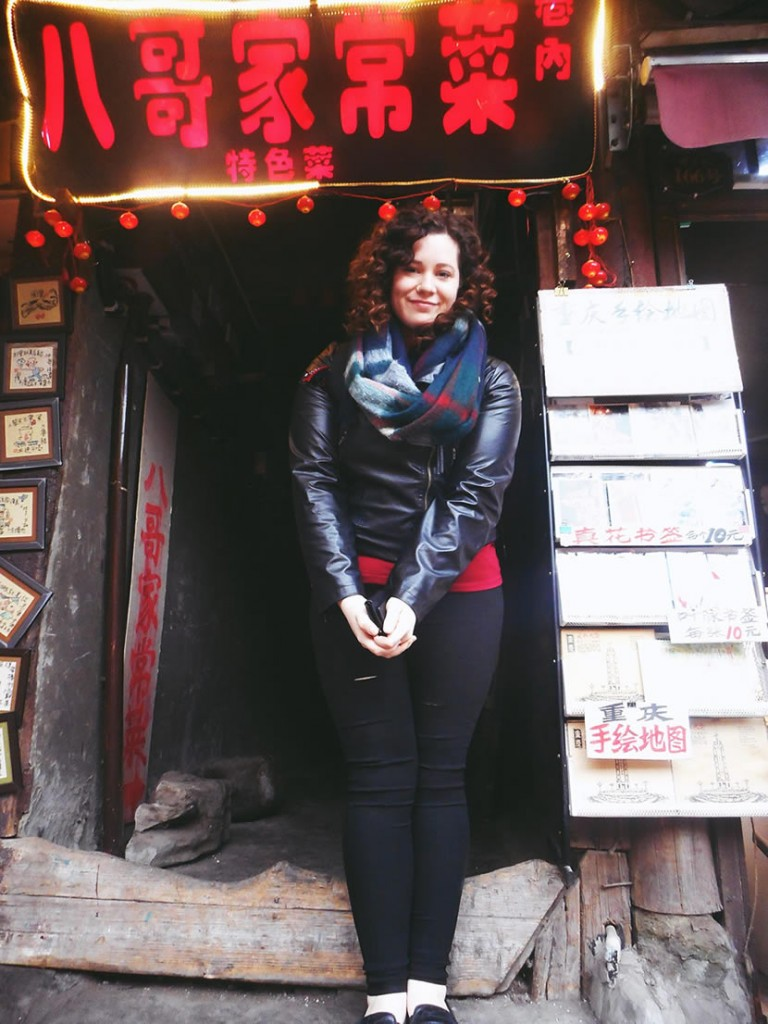 Amanda Teaching ESL in China