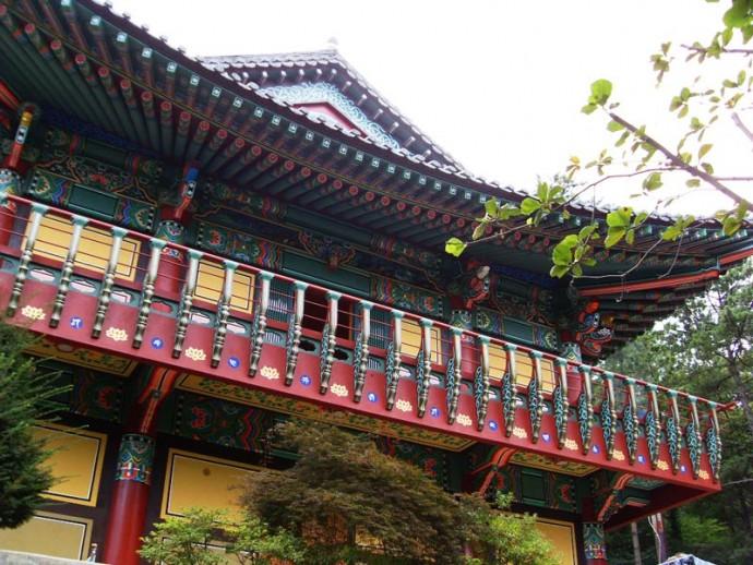 Colorful Ornament Architecture of South Korea