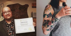 Our grad talks about tattoos & teaching English in China – Video