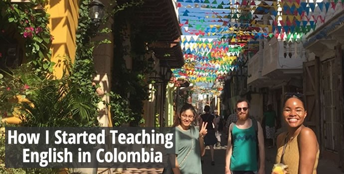 How I started teaching English in Colombia