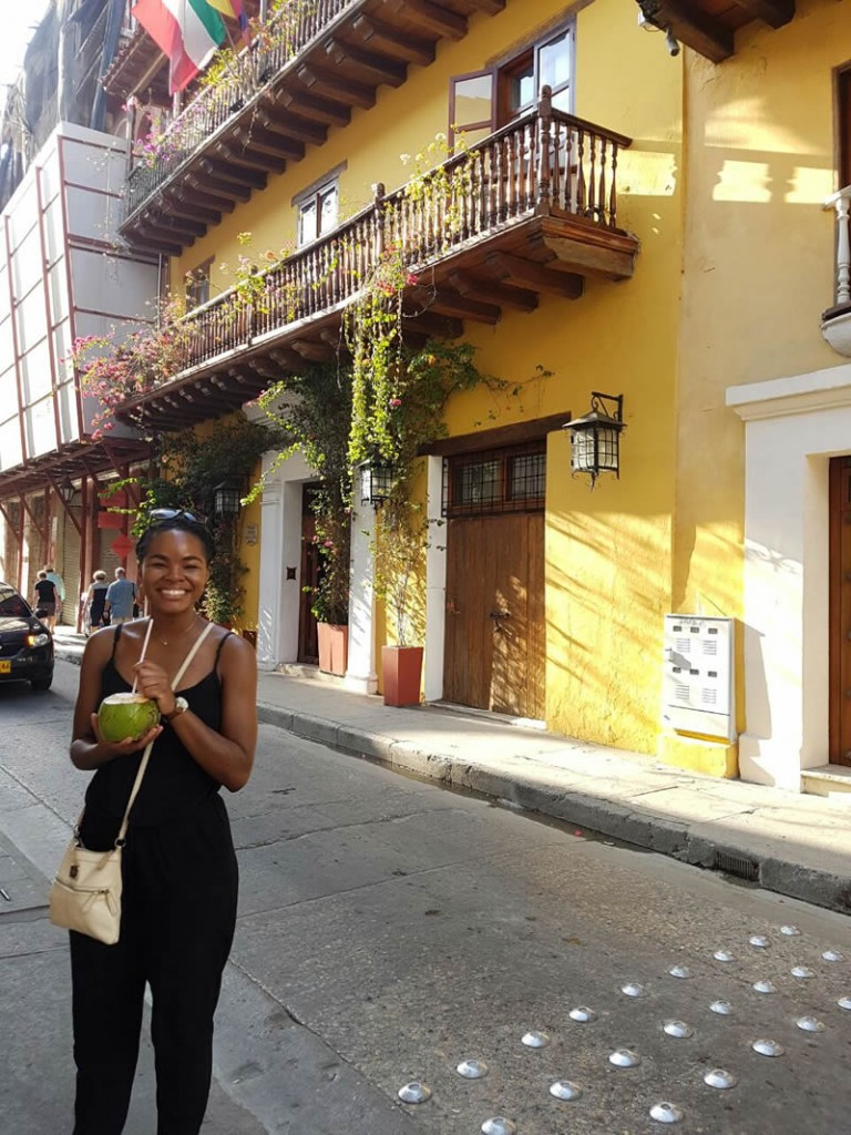 Exploring the streets of Cartagena, Colombia