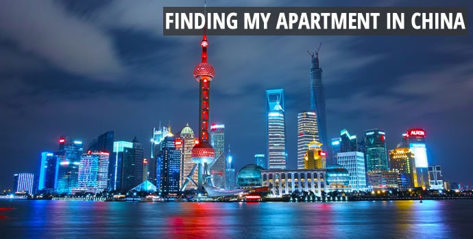 Finding my Apartment in China
