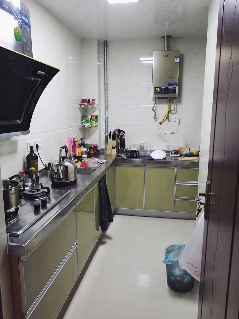 Our Chinese Apartment Kitchen