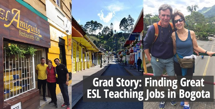 Grad Story: Finding Great ESL Teaching Jobs in Bogota
