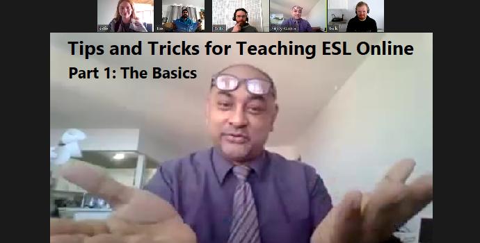 Tips and Tricks for Teaching ESL online