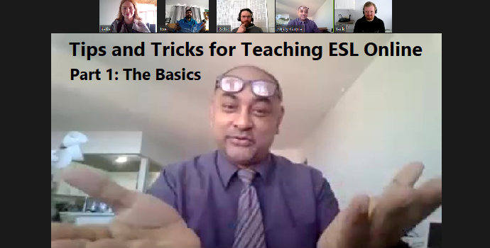 Tips and Tricks for Teaching ESL online