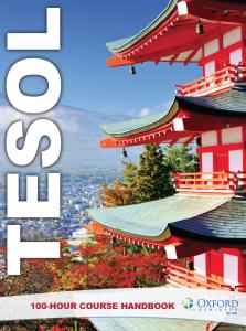 TESOL 100-Hour Course Handbook