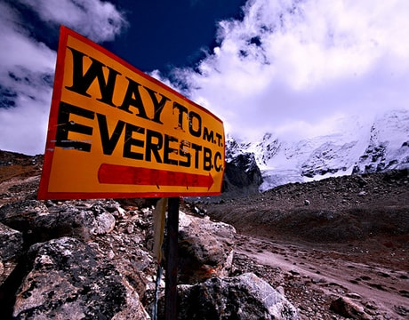 Mount Everest Path