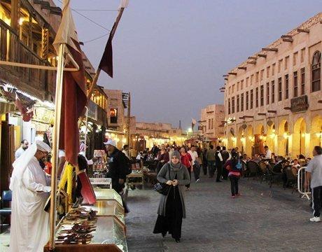 Market in Doha