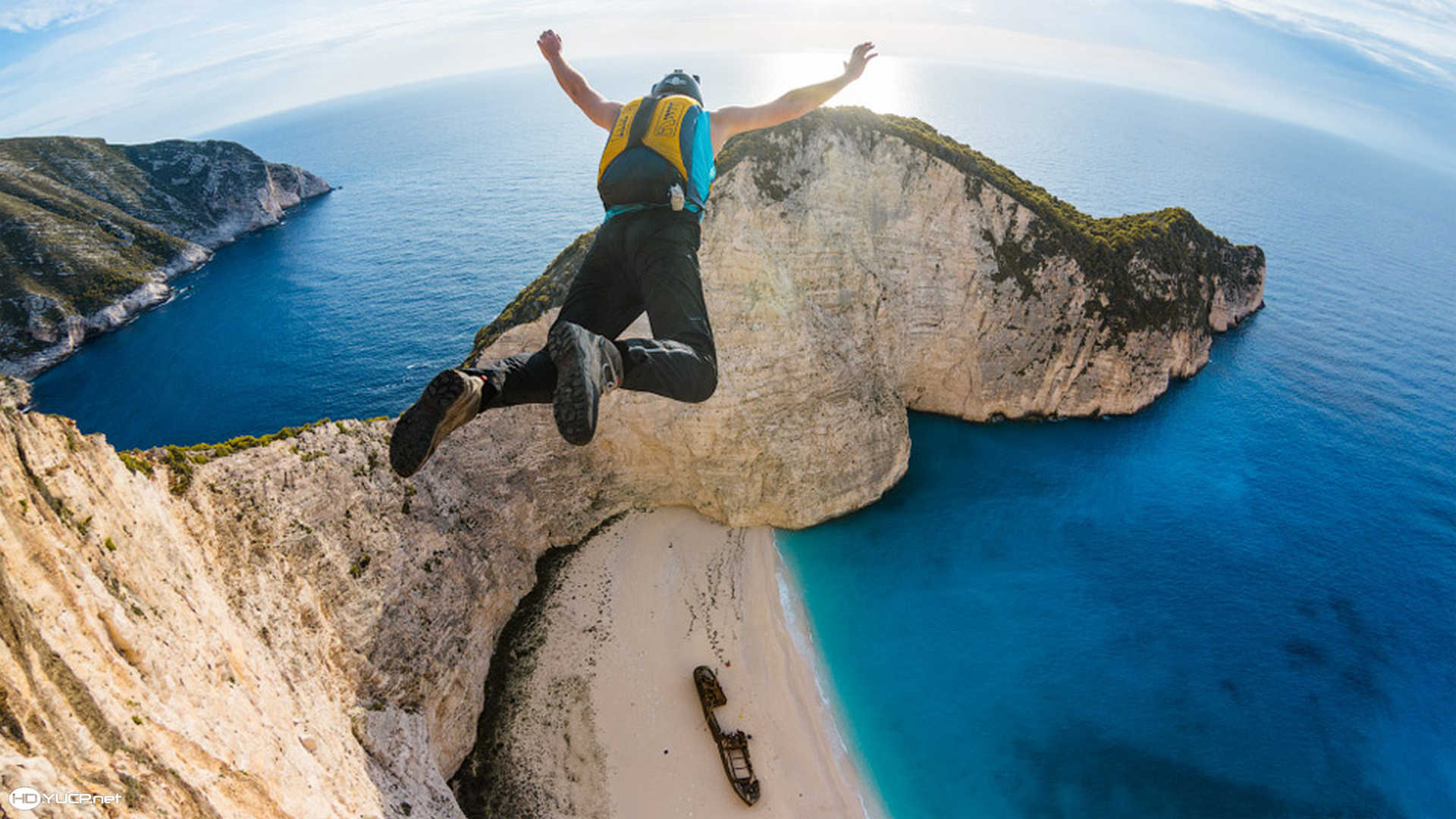 Base Jumping – Zakynthos